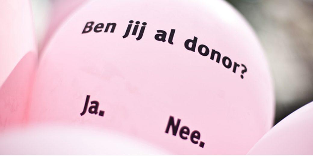 nieuwe donorwet vanaf 2020